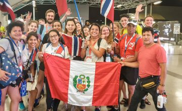WYD 2019 Panama: På flyplassen